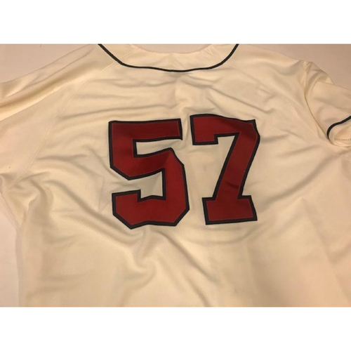 Photo of Game-Used Detroit Stars Jersey: Artie Lewicki