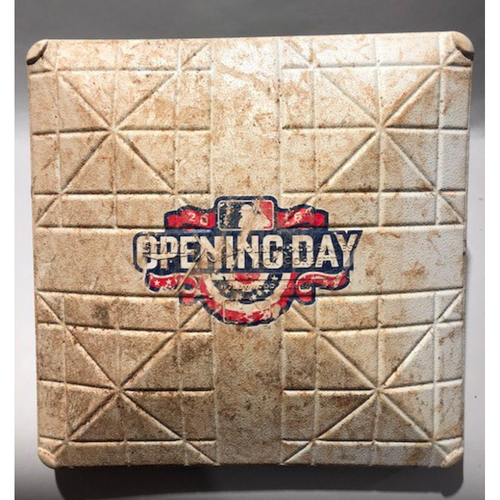 2016 Chicago White Sox Opening Day - Game-Used 1st Base - 4/08/16