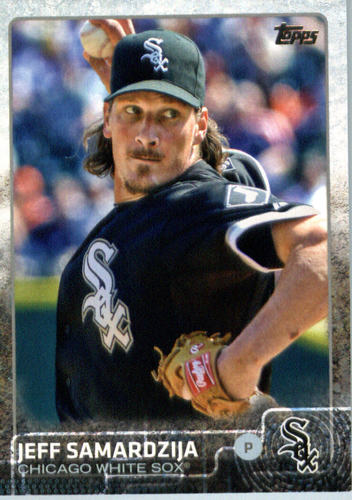 Photo of 2015 Topps Update #US161A Jeff Samardzija
