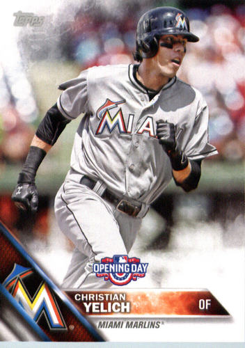 Photo of 2016 Topps Opening Day #OD141 Christian Yelich