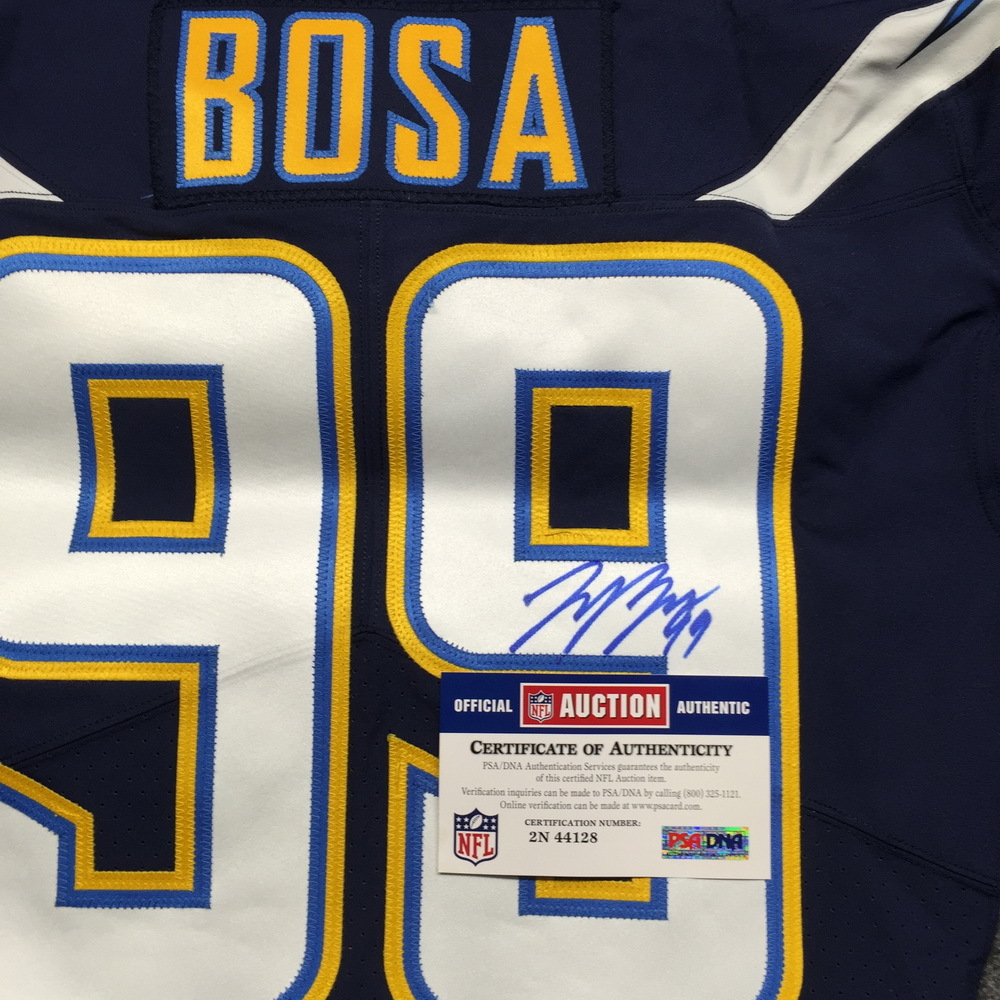 31d58ee1 NFL Auction   Chargers - Joey Bosa signed authentic Chargers jersey ...