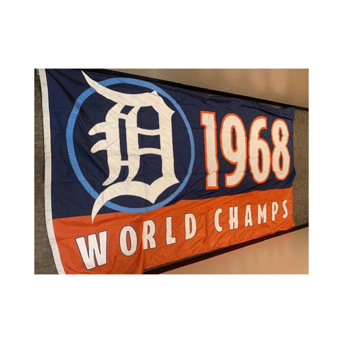 Photo of Team-Issued 1968 World Champions Banner
