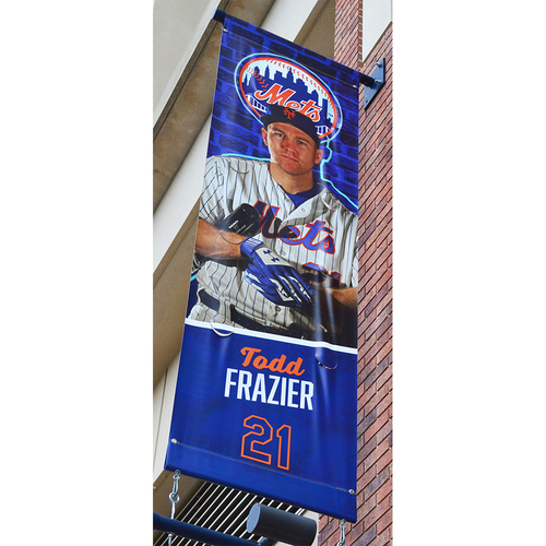 Photo of Todd Frazier #21 - Citi Field Banner - 2018 Season