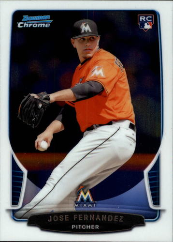 Photo of 2013 Bowman Chrome Draft #10 Jose Fernandez RC