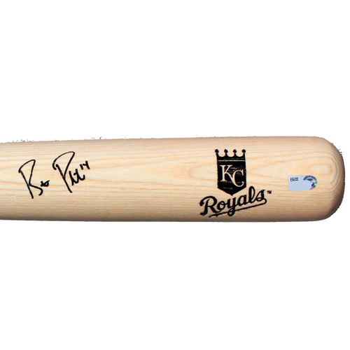 Photo of Autographed Bat: Brett Phillips