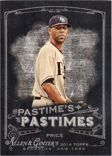 Photo of 2014 Topps Allen and Ginter The Pastime's Pastime #PPDPR David Price