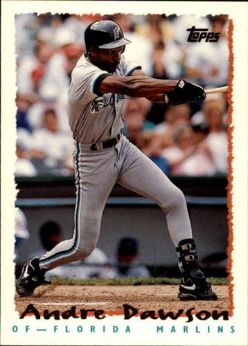 Photo of 1995 Topps Traded #155T Andre Dawson