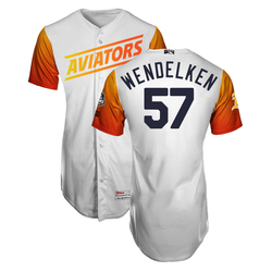 Photo of J.B. Wendelken #57 Las Vegas Aviators 2019 Home Jersey