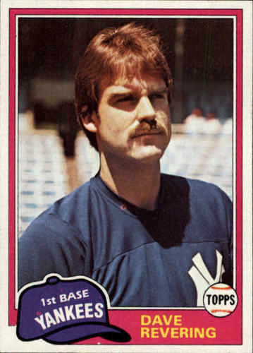 Photo of 1981 Topps Traded #823 Dave Revering
