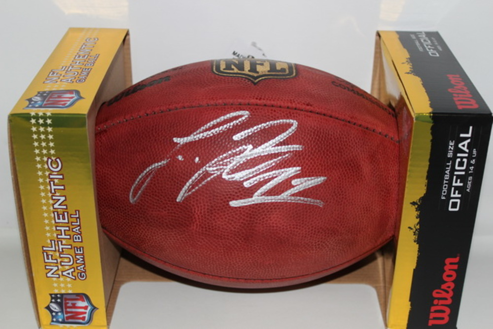 NFL - VIKINGS LAQUON TREADWELL SIGNED AUTHENTIC FOOTBALL