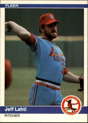 Photo of 1984 Fleer #327 Jeff Lahti