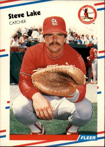 Photo of 1988 Fleer #38 Steve Lake