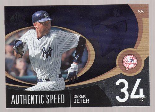 Photo of 2007 SP Authentic Authentic Speed #AS18 Derek Jeter