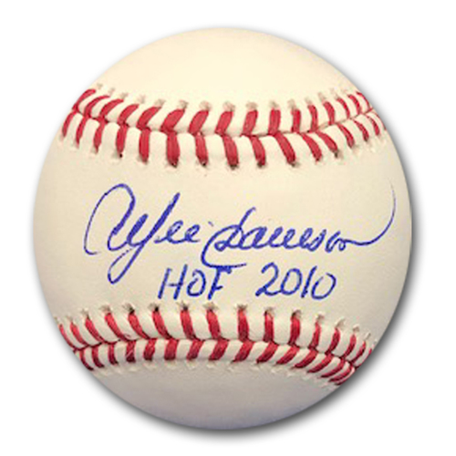 Photo of Andre Dawson Autographed Baseball
