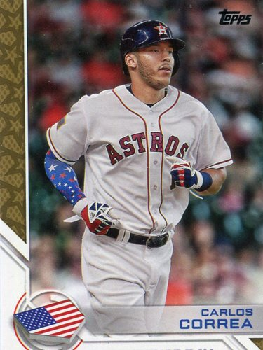 Photo of 2017 Topps Independence Day #ID15 Carlos Correa