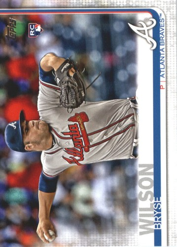 Photo of 2019 Topps #641 Bryse Wilson RC