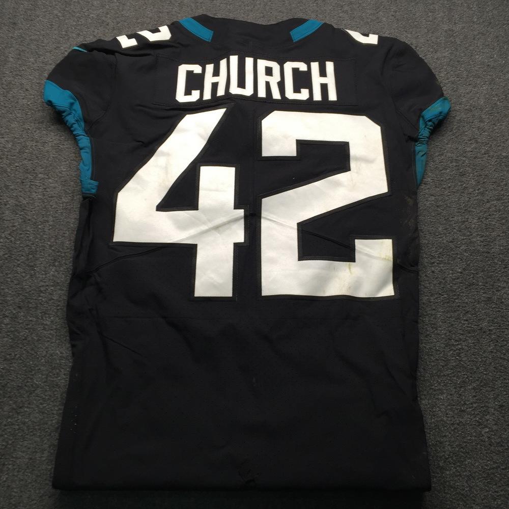 NFL Auction   NFL - Jaguars Barry Church London Games 10.28.18 ...