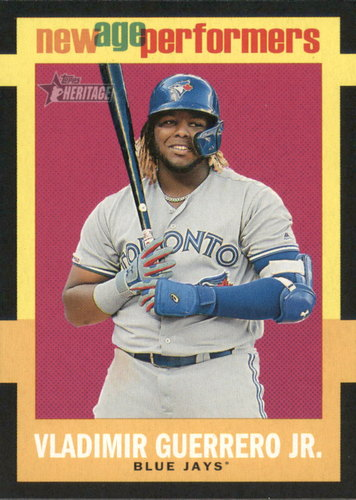 Photo of 2020 Topps Heritage New Age Performers #NAP10 Vladimir Guerrero Jr.