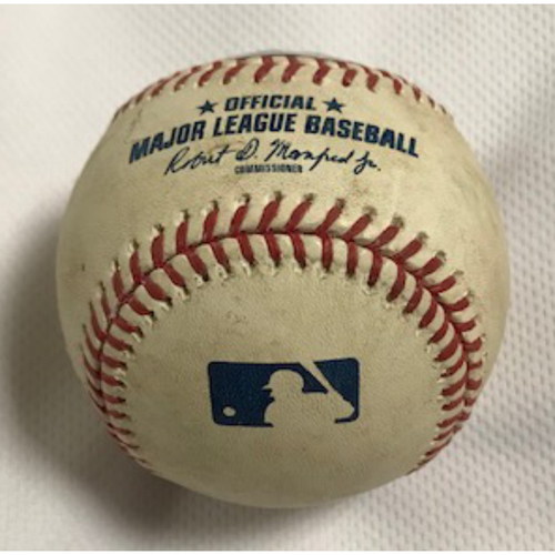 Photo of Game-Used Baseball: Luke Weaver Struck Out Joc Pederson, 8/1/20 Dodgers at D-backs