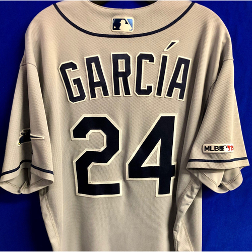 Photo of Game Used Road Gray Jersey: Avisail Garcia - 3 Games - May 14-15 v MIA and May 28 v TOR