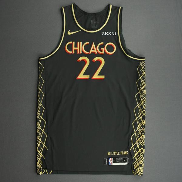 Image of Otto Porter Jr. - Chicago Bulls - City Edition Jersey - 2020-21 NBA Season