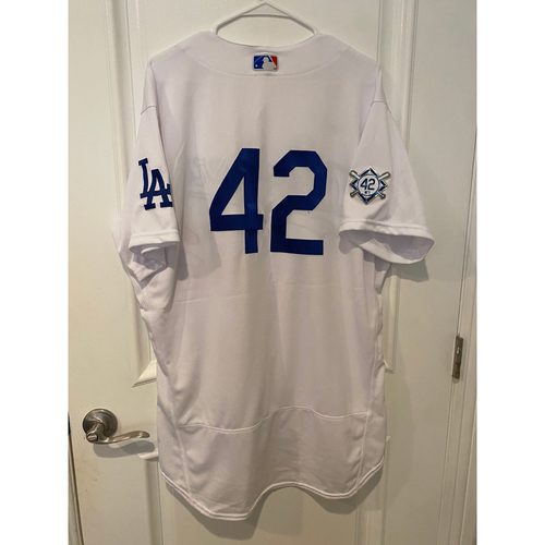 Photo of Victor Gonzalez Game-Used Jackie Robinson Day Jersey - Size 48