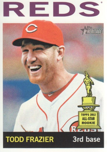 Photo of 2013 Topps Heritage #85 Todd Frazier