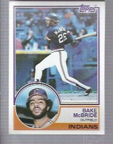 Photo of 1983 Topps #248 Bake McBride