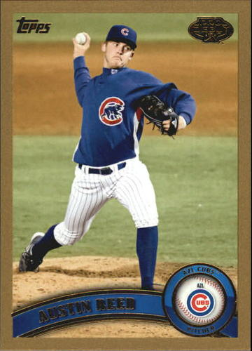 Photo of 2011 Topps Pro Debut Gold #306 Austin Reed