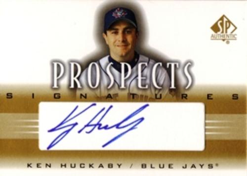 Photo of 2002 SP Authentic Prospects Signatures #PKH Ken Huckaby