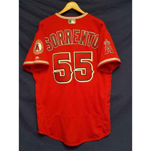Photo of Paul Sorrento Alternate Red Team-Issued Jersey