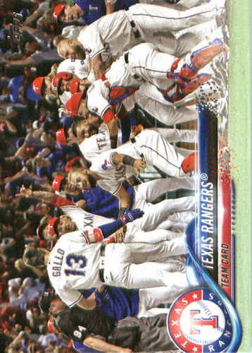 Photo of 2018 Topps #229 Texas Rangers