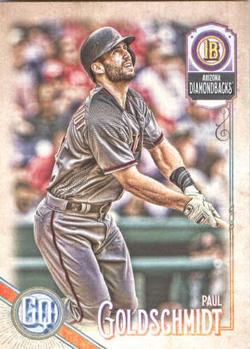 Photo of 2018 Topps Gypsy Queen #82 Paul Goldschmidt
