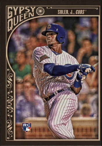Photo of 2015 Topps Gypsy Queen #40 Jorge Soler Rookie Card