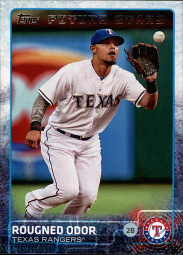 Photo of 2015 Topps #491 Rougned Odor FS