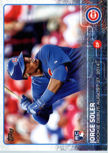 Photo of 2015 Topps Update #US162 Jorge Soler Rookie Card
