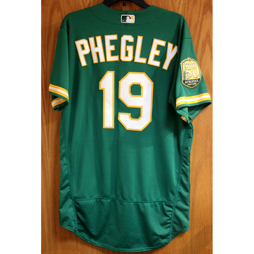 Photo of Josh Phegley Game-Used Jersey
