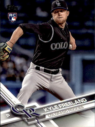 Photo of 2017 Topps Update #US60 Kyle Freeland RC