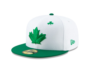 b74353d2aa9 Toronto Blue Jays 2019 St. Patrick s Day Cap by New Era