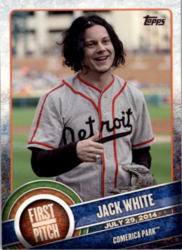 Photo of 2015 Topps First Pitch #FP02 Jack White