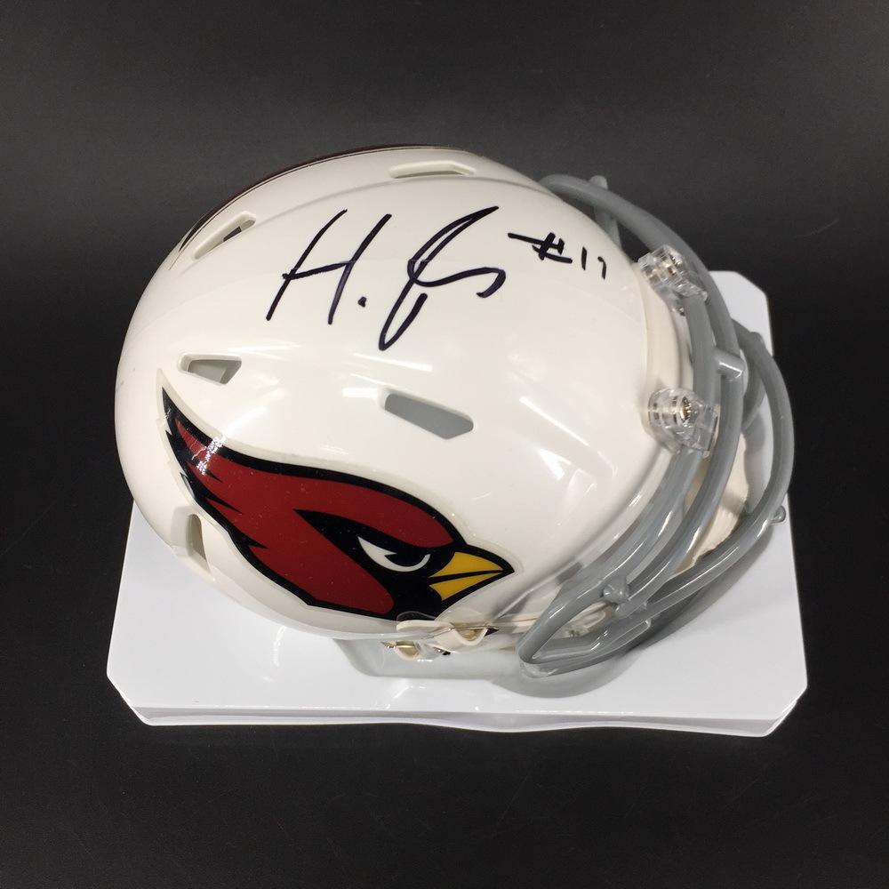 NFL - Cardinals Hakeem Butler Signed Mini Helmet