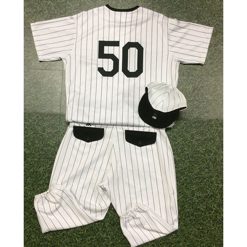 Photo of Jacob Barnes 2019 Authenticated Milwaukee Bears Uniform (Game-Used Jersey, Game-Used Cap, Team-Issued Pants)