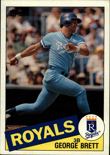 Photo of 1985 Topps Super #46 George Brett