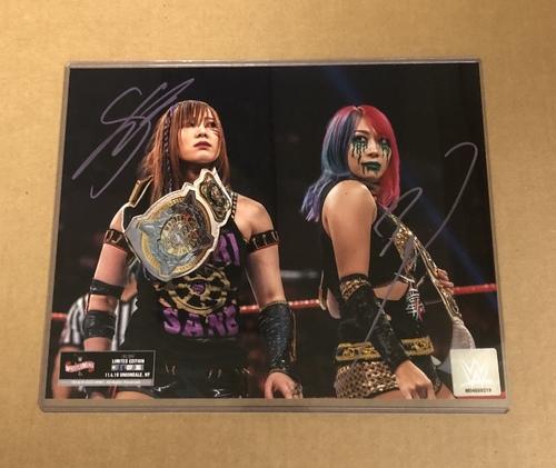 Photo of Kabuki Warriors SIGNED Wrestlemania 36 Exclusive Photo (Random Number)