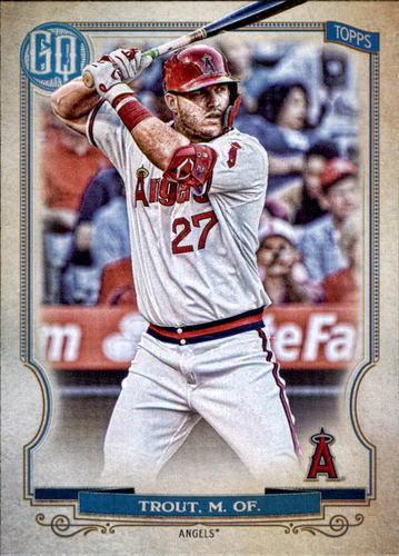 Photo of 2020 Topps Gypsy Queen #300 Mike Trout