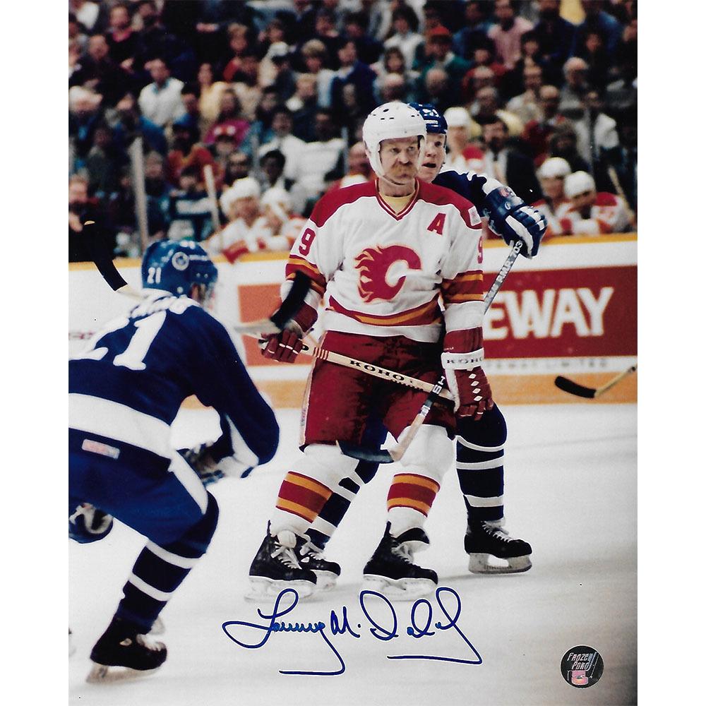 Lanny McDonald Autographed Calgary Flames 8X10 Photo
