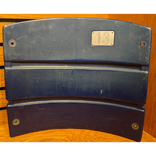 Photo of Fenway Park Section 33 Blue Seatback #13