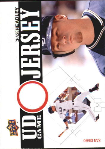 Photo of 2010 Upper Deck UD Game Jersey #HE Chase Headley