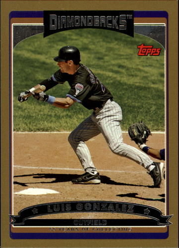 Photo of 2006 Topps Gold #376 Luis Gonzalez