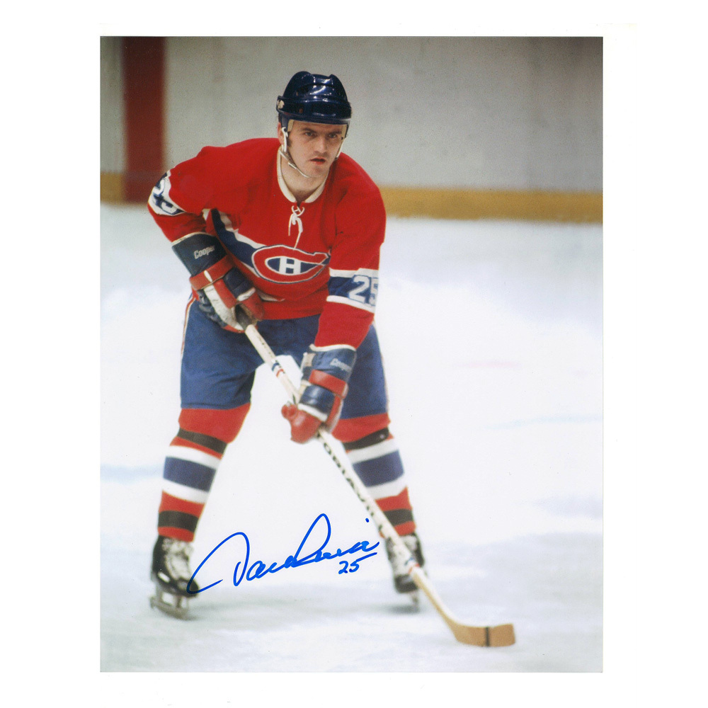 JACQUES LEMAIRE Signed Montreal Canadiens 8 X 10 Photo - 70215